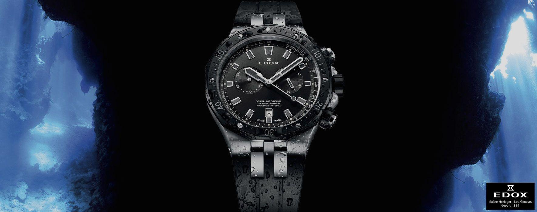 Site horloger Edox